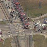 RT @GlobalCalgary: BREAKING: Pedestrian hit by C-Train near Stampede grounds - http://t.co/CZJY1T1tIW #YYC http://t.co/KldBKU6aAI