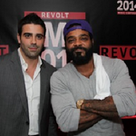 RT @playwirevideo: Anthony Alexander ,Head of New Business Development, with incredible artist @jimjonescapo at the #RMC2014! @RevoltTV htt…