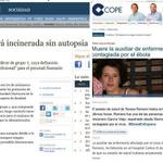 Teresa Romero supera la infección por ébola. Recordemos lo que decían los canallas de ABC y COPE hace unos días. http://t.co/NsoOWjMxK9