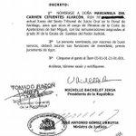 RT @abalosfelipe: Esta es la ahijada de Bachelet, ascendida en Abril con el único objetivo de perseguir a Cristian Labbe.. #FuerzaLabbe http://t.co/3xQ2K3YwtK