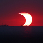 There will be a partial solar eclipse Thurs. It will be awesome. Heres all you need to know. http://t.co/5smBODgwD7 http://t.co/Ak5700PKwN
