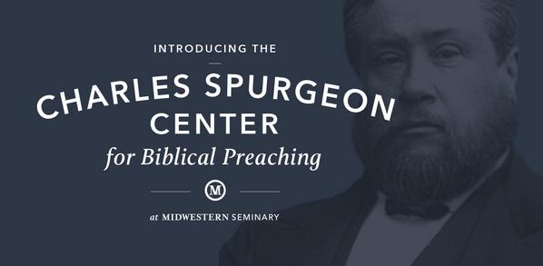 Introducing the Charles Spurgeon Center for Biblical Preaching. http://t.co/kSKT6gPOEd http://t.co/9EitHdWaYG