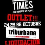 RT @GREAT__TIMES: este findesemana y solo este...LIQUIDACIÓN DE VERANO @GREAT__TIMES EN @triburbanashop! http://t.co/rrHd9C9tvJ