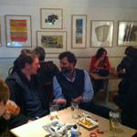Artists having a good get together tonight at the @Maddermarket @Hostryfestival #PON14 #Norwich http://t.co/QjWjkZxnoF