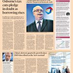 Just published: front page of the Financial Times UK edition Wed Oct 22 http://t.co/44vkqwZMrU