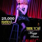 "RT @GirlSingerMaggy: JUST WELCOMED MY 25,000TH FRIEND at http://t.co/kEFZOJ4kd4. Luv my online ""peeps""! #Music #Jazz #Broadway #Hollywood http://t.co/U0XwoIazVi"