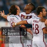 ENDSTAND in Rom: AS Roma 1 - 7 #FCBayern #ASRFCB 1-7#MiaSanMia http://t.co/Kd4ct3JtFm