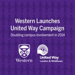 2014 #WesternU @UnitedWaylm Campaign - aims to DOUBLE participation: http://t.co/VYHHq5jJPt http://t.co/9o8nQqbCVq #LdnOnt