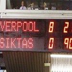 Şampiyonlar Liginde en farklı mağlubiyet rekoru (8-0) yine, yeniden Beşiktaşta.. http://t.co/FHPvEfUJYs