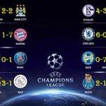 FINAL!!! Terminaron los partidos de martes de #ChampionsLeague que nos han dejado 40 GOLES!!! http://t.co/YtZvuwgtXg