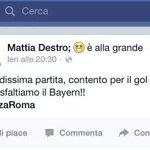 Non si dice .....porta sfiga ...lo sanno anche i bambini.... #RomaBayern 1-7 #RomaBayernMonaco #Roma1-7 #RomeBayern http://t.co/E7ClTc9NNr
