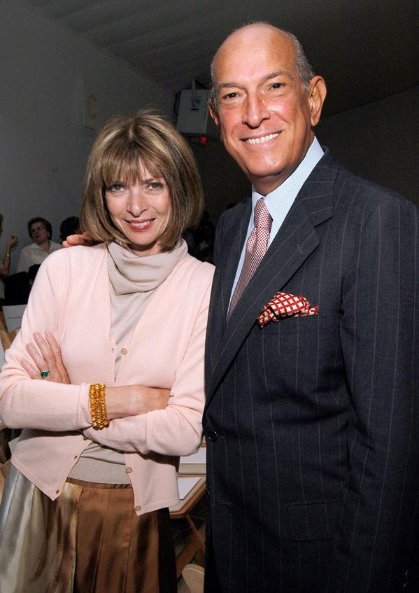 RIP Oscar de La Renta: Anna Wintour, Hillary Clinton & more stars honor the late icon.
