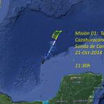 inicia Misión 01 del Avión #Cazahuracanes hacia la sonda de #Campeche http://t.co/bVissaG0us