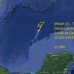 @conagua_clima informa que inicia misión 01 del avión #Cazahuracanes hacia la Sonda de #Campeche http://t.co/MoOOdTKB1j