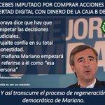RT @elpadrecorajede: Acebes la regeneración Democrática de rajoy. Vía @Mividasermamon http://t.co/W4XaSBSzYQ