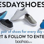 RT @boohooMAN: RT & Follow to enter #TUESDAYSHOESDAY. You could #win a weeks worth of shoes! (Ts & Cs apply) http://t.co/EglWGP6yH0 http://t.co/dCV3yYCOlS