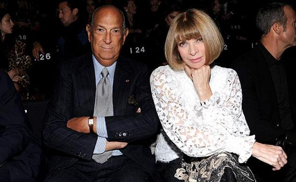 Anna Wintour opens up on the late Oscar de la Renta via @HelloFashion_UK