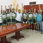 "Alcalde @alfreditodiaz : ""Mariño con el mejor equipo de Nueva Esparta en Vuelta a Margarita"" http://t.co/PORcniZCZA http://t.co/CH93QvvtoA"