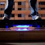"""The wait is over, """"Back to the Future"""" fans. Tech startup unveils hoverboard: http://t.co/d9sURpTHQR http://t.co/XPBwiHqtuU"""