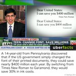 How a 14-year-old could save the government $400 million... http://t.co/otpZ66K59k