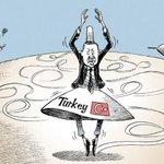 The New York Times çizeri, Kobani'deki U dönüşü nedeniyle Erdoğan'ı dans ettirdi http://t.co/ol1Gj7dVgZ http://t.co/moA4ZkFqbn