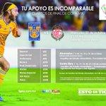 Tigres vamos por el pase a semifinales vs Toluca este miércoles CopaMx #SoyTigre #TigresxLaCopa http://t.co/gQ2g3MyWhz