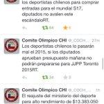 RT @caterinbravo: @caterinbravo Perdí la capacidad de asombro c/ las políticas deportivas n alto rendimiento d mi país @urrutiaOsvaldo http://t.co/UGgje5QfMt