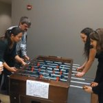 The @indystar Foosball tourney is getting intense u guys... http://t.co/iQvzCHgWxd