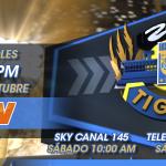 No te pierdas mañana Zona Tigres por @tdn_twit en punto de las 6 pm antes del partido vs Toluca (9:15pm) http://t.co/hyQOIZYyO1