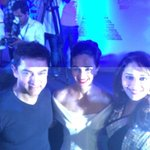 @Aamir_khan @MadhuriDixit and  guess who! I so enjoyed hosting @mumbaifilmfest .. Thank u @anupamachopra @TheTeamTSS