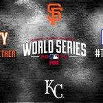 RT @MLB: Dynasty. Destiny. @SFGiants vs. @Royals. #WorldSeries Game 1 is at 8pm ET on @MLBONFOX. http://t.co/bKupZcIanP