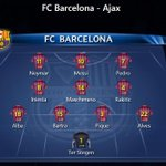 RT @barcastuff: Infographic: Barcelona line-up #fcblive [via @barzaboy] http://t.co/lq8Dp8TuBd