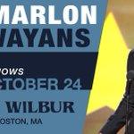 This Friday! @MarlonWayans! #Boston, MA! TIX: http://t.co/NyGroj5GuS Show Flier: http://t.co/qRiLOByINR