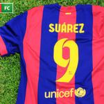 RT @ESPNFutbolClub: [Concurso - AR, CO, CL, UY, BO, PY, EC] #CamisetaSuárezFC ¡Seguinos y dale RT a este tweet para participar! http://t.co/QOaYKd5sLm