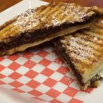 RT @EhPanini: Sweet tooth? Come satisfy that with one of our new Nutella Banana Paninis! #yummm #HamOnt http://t.co/xrFoKJFqTV
