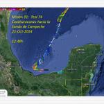 Misión del Cazahuracanes dando un viraje hacia Cd del Carmen http://t.co/qdEX8hbvna
