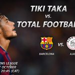 RT @SuperSportTV: #UCL - Two teams with great footballing histories collide when Barcelona host Ajax Amsterdam #SSFootball http://t.co/V6hd42HhZa