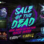 It's the Sale of the Dead! Celebrate Halloween with discounts on games, movies, and TV shows: http://t.co/jvsZNNN6nE http://t.co/5yEcKy6GD8