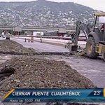 #ReporteEnVivo Permanecerá cerrado puente Cuauhtémoc hasta las 22:00 hrs. por trabajos tras hundimiento http://t.co/yoxx9wDHaF