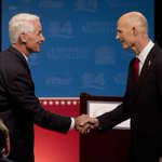 RT @htpolitics: Our guide to where @FLGovScott and @CharlieCrist stand on the issues http://t.co/lpK5WUwWBL #FLGovDebate http://t.co/N76zNMPAnY