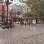 Rain really coming down hard in downtown #SLC! Grab the umbrella and tune into @ChaseThomason #LiveOnKUTV2! http://t.co/0bOUrU0P1a