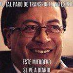 El mejor meme que he visto .... Es tan cierto !! #ParoDeTransporte @petrogustavo http://t.co/9cRHW7xmOG