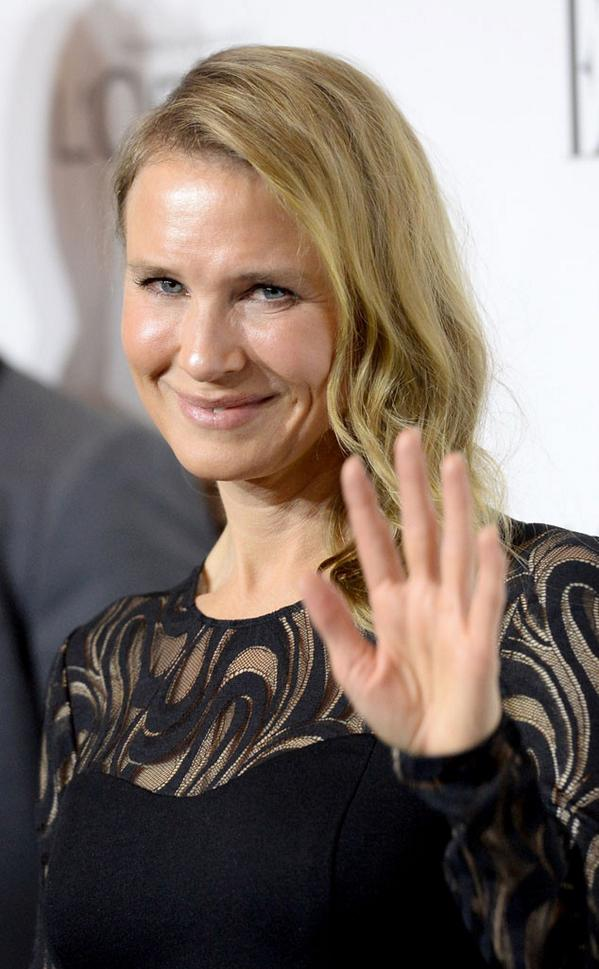 Renee Zellweger, is that you?! That's quite the new look: