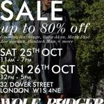 RT @wolfandbadger: Our #SampleSale is this weekend in #London and you can #WIN our #competition for £100 to spend just with a RT+follow! http://t.co/3iCa0YcSxk
