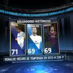 BAR 2-0 AJAX; Lionel Messi (24´) Messi iguala a @Cristiano con 69 goles en #UCL, a 2 de igualar el récord de Raúl. http://t.co/6l0gt557vT