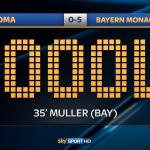 Quinto gol del @FCBayern questa volta dal dischetto, la firma è di #Muller. #SkyUCL http://t.co/pdBoLuuxpr