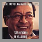 RT @Juankldsptes10: La sabiduría de @petrogustavo en su máxima expresión... #ParodeTransporte http://t.co/o6kELxWT4W