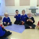 This morning class 4 composed their own autumn inspired poem with autumn sound effects. http://t.co/49v4WGqSsy