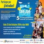 ¡Dale RT y participa con @Expresoec por una de las 6 entradas a @DreamMakersec este Jueves 23 en #Guayaquil! http://t.co/MtvdGzABAx