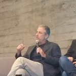 RT @alexticas: Having a #Rosewaterchat with Jon Stewart and @maziarbahari at @twoffice http://t.co/7my1gzx6ty